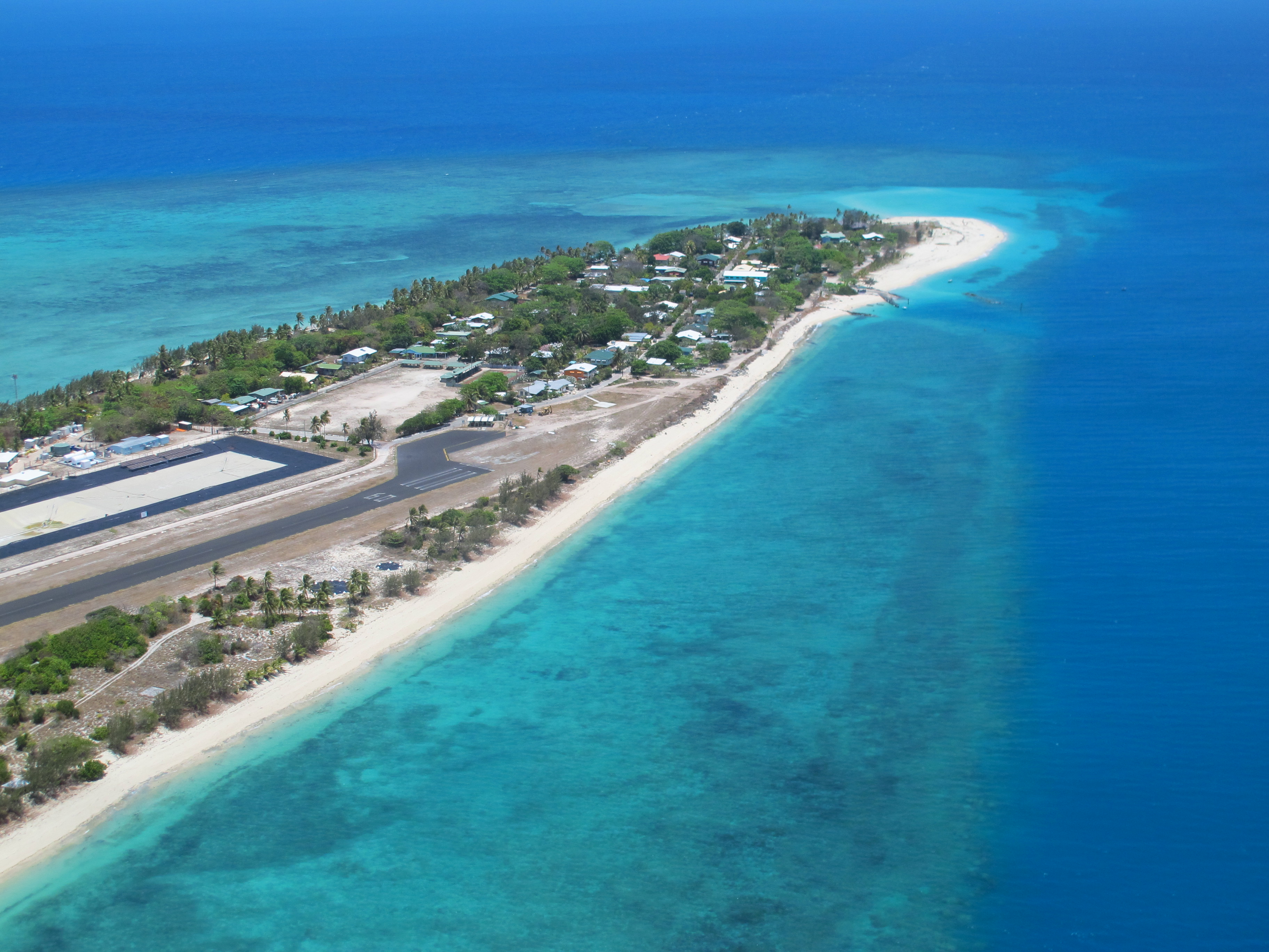 Coconut Island - Aerial view | Torres Strait