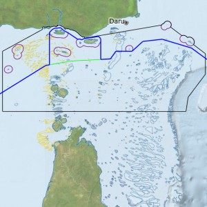 Torres Strait Maritime Boundaries (Interactive Map)