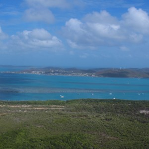 Thursday Island - Aerial view from Horn island