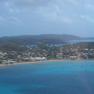 Thursday Island - Aerial view